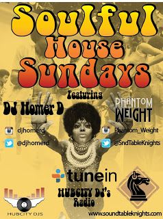 Soulful House Sunday's - Every Sun Live @ 7pm