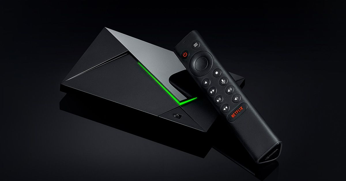 NVIDIA Shield TV Pro 4K - Android TV Media Streamer
