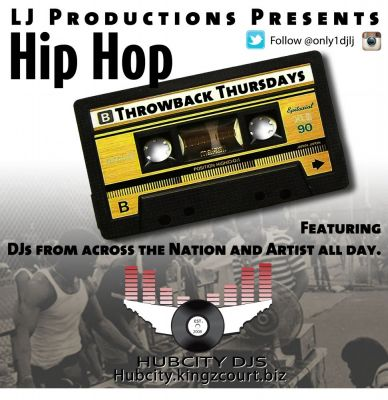 TUNE IN FOR THROWBACK THURSDAYS - DJS MIXING ALL DAY~~~